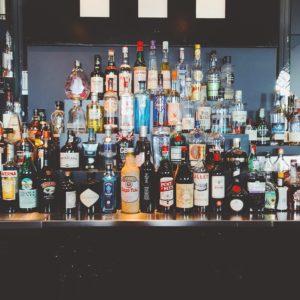 full cash bar menu